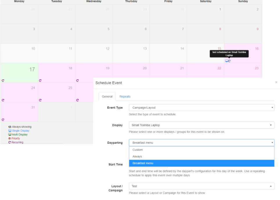 scheduling your day