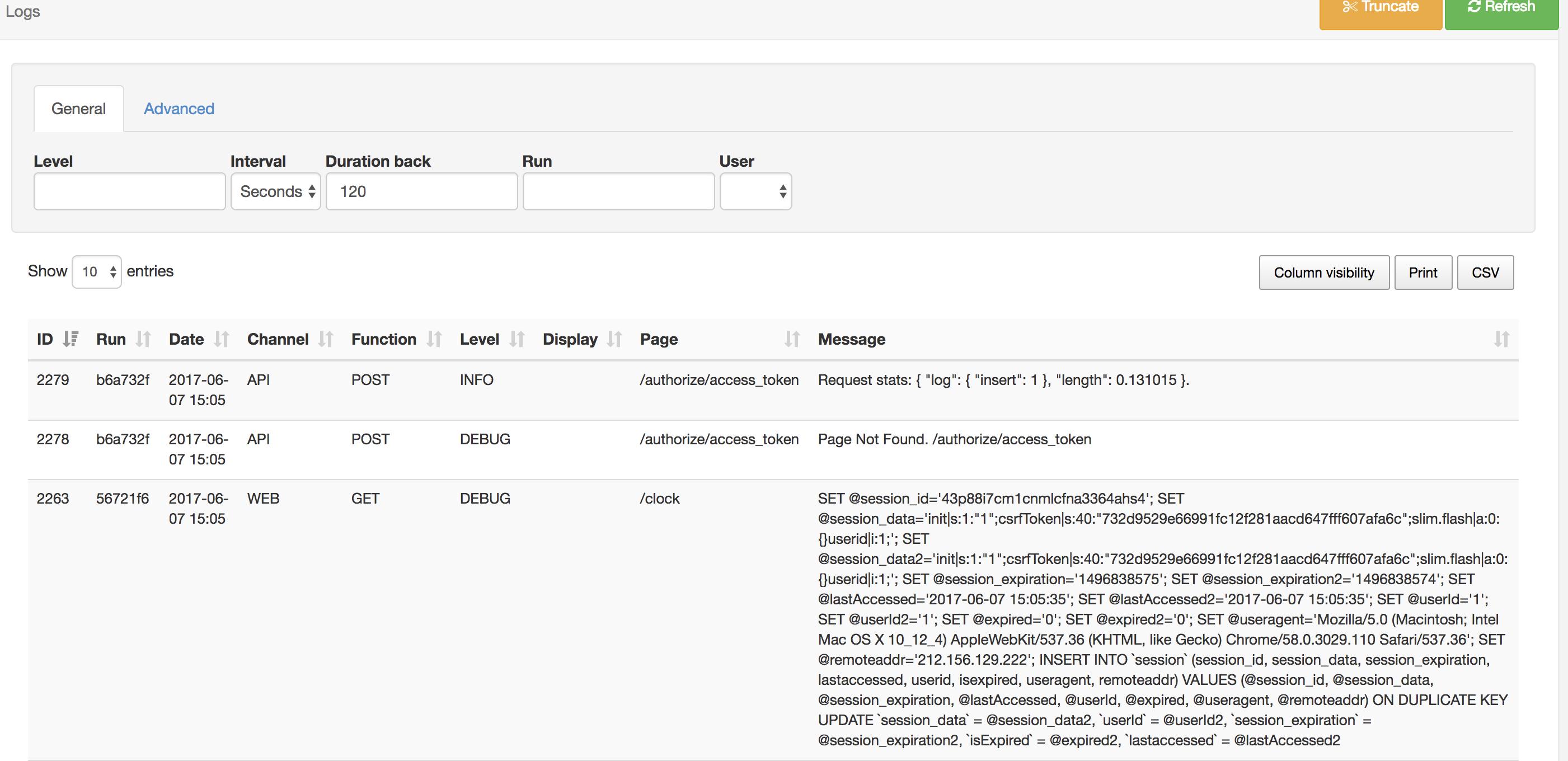 API Call through Postman - Support - Xibo Community