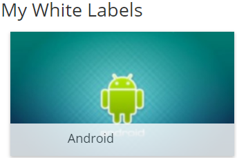 Xibo for Android White Label Administration | Xibo Open